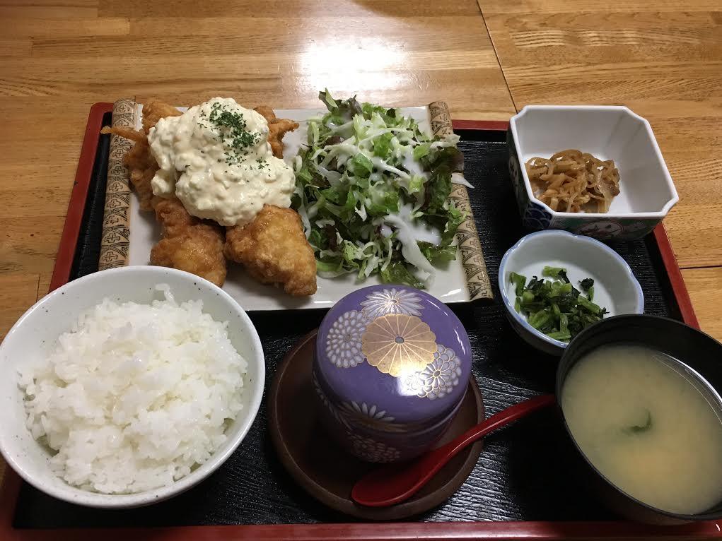 鮨芳_チキン南蛮定食