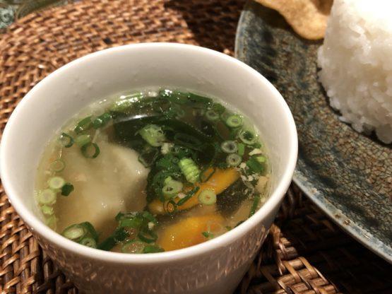 柏のカフェラインのランチスープ