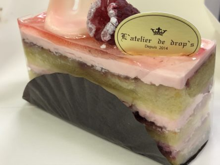 L'atelier de drop'sの美味しいケーキ春限定