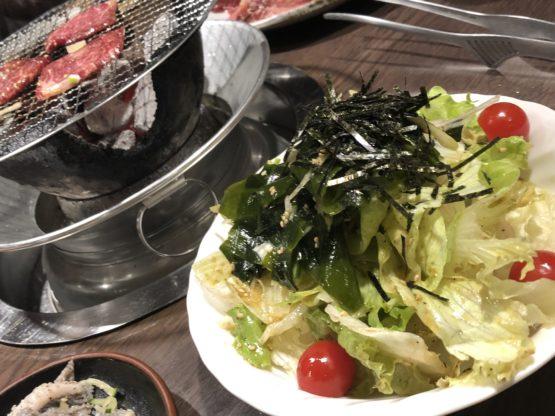 野菜たっぷりわかめサラダ