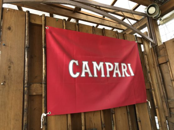 カンパリの旗