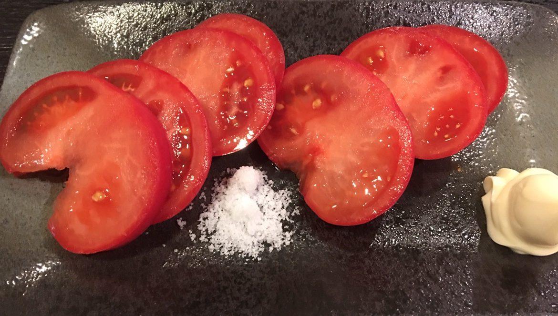 おばんざい酒場かしわ三丁目_冷やしトマト