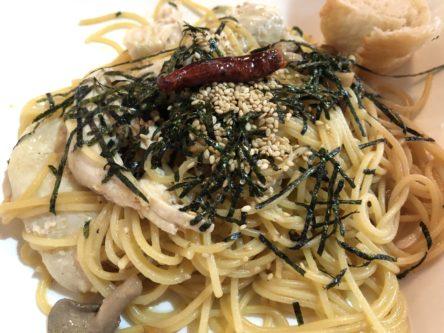 イタリ庵のおいしいきのこスパゲティ