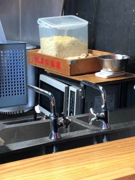 製麺所の箱