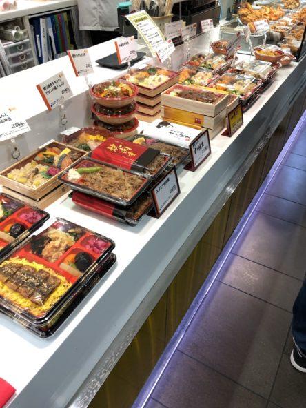北海道物産展のお肉弁当