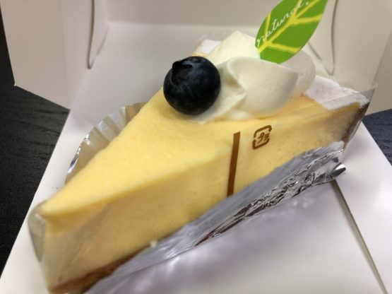 柏にあるアミューズの絶品チーズタルト