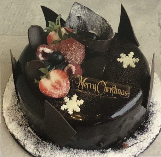 ラトリエ ドゥ ドロップス_クリスマスケーキ_クリスマスムースショコラ