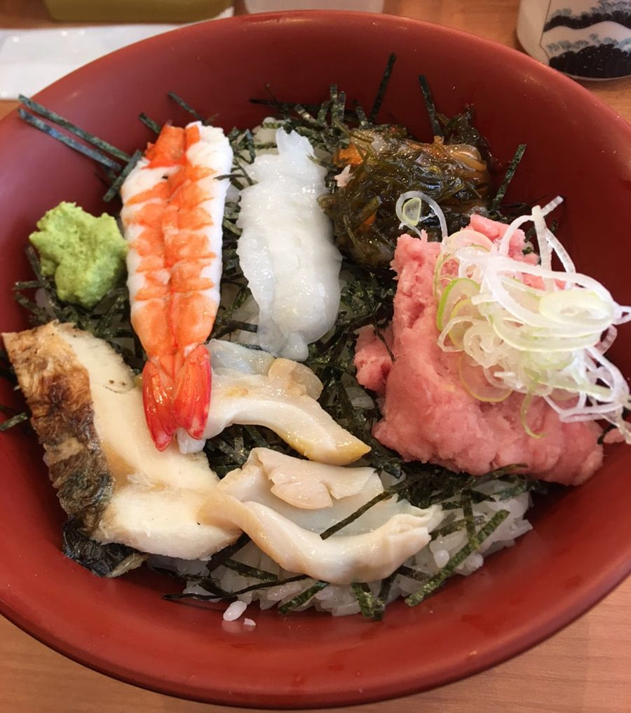 大江戸寿司_海鮮丼_500円